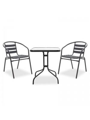 Градински сет Watson-Tade - маса с 2 стола