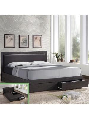 СПАЛНЯ LIFE Bed С ЧЕКМЕДЖЕТА 160x200 ΕΜ371
