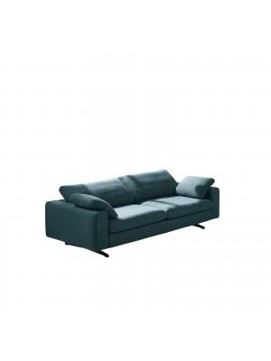 Триместен диван MAJESTIC сив текстил Ε9643,1