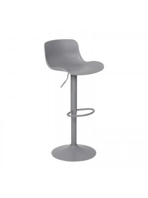 Бар стол MOSS сив с метална стойка ΕΜ200,3