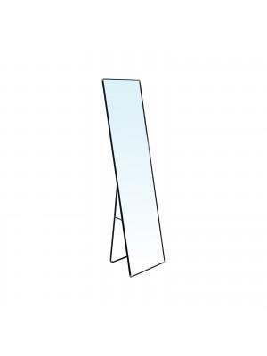 Стоящо огледало DAYTON 40x43x160cm с алуминиева черна  рамка Ε7182,1