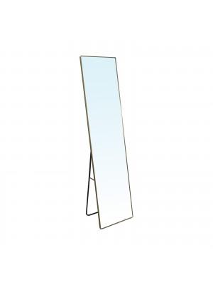 Стоящо огледало DAYTON 40x43x160cm с алуминиева златна рамка Ε7182,2