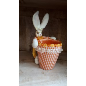 Кошница заек оранж