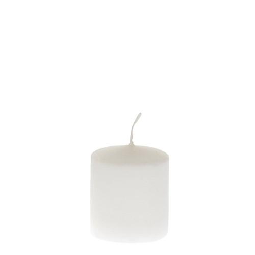 Свещ5x6cmбяла