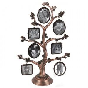 Рамка колаж-7 снимки-дърво