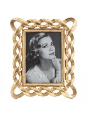 Фото рамка антично злато