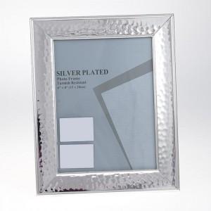 Фото рамка метал сребриста 20х25