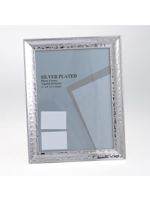 Фото рамка метал сребриста 15х20