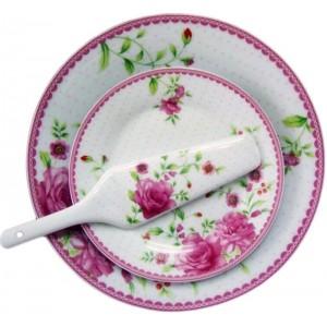 Сет торта 'pink rose'