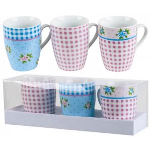 К-т 3 чаши за кафе