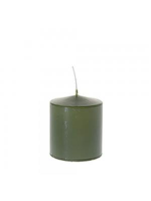 Свещ7χ8см зелена