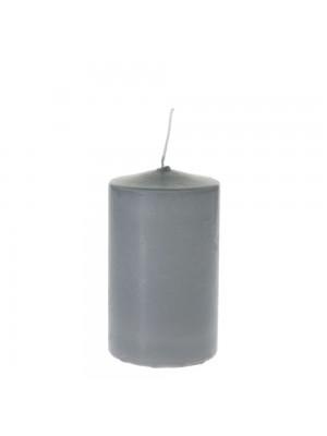 Свещ 7х8см сива