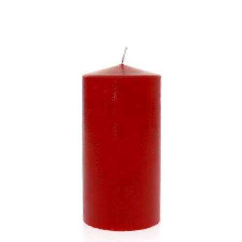 Свещчервена9x18cm