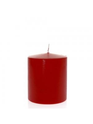 Свещ червена 12х14см
