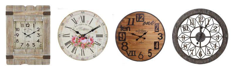 Часовници за стена за всеки стил