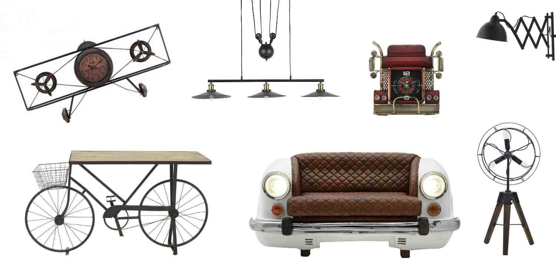Оригинални мебели с индустриален дизайн