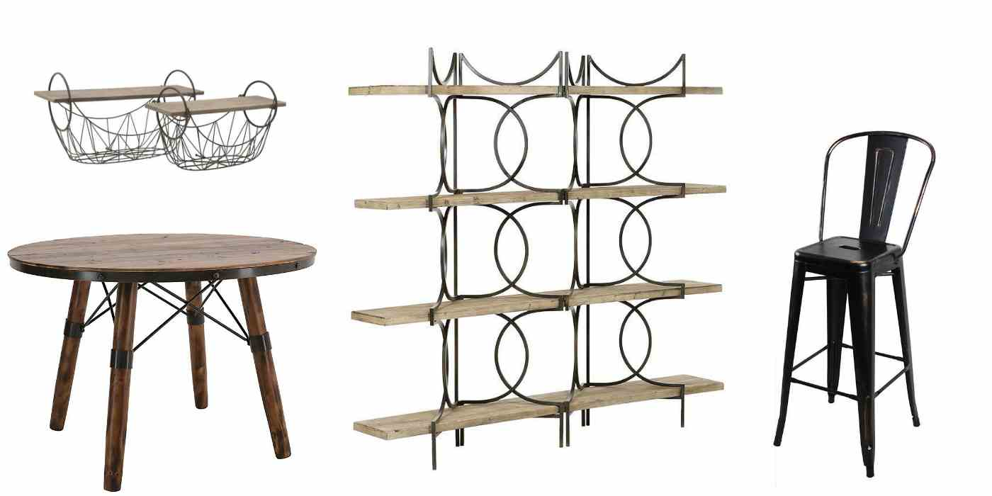 Индустриални мебели за дома