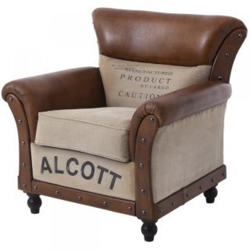 Кресло в индустриален стил