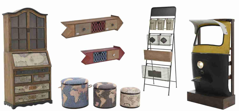 Мебели в индустриален стил