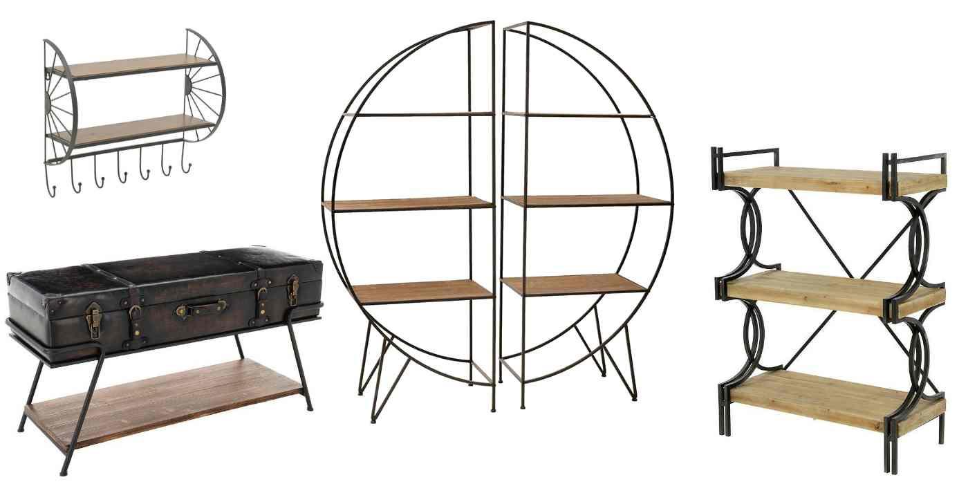 Практични мебели в индустриален стил