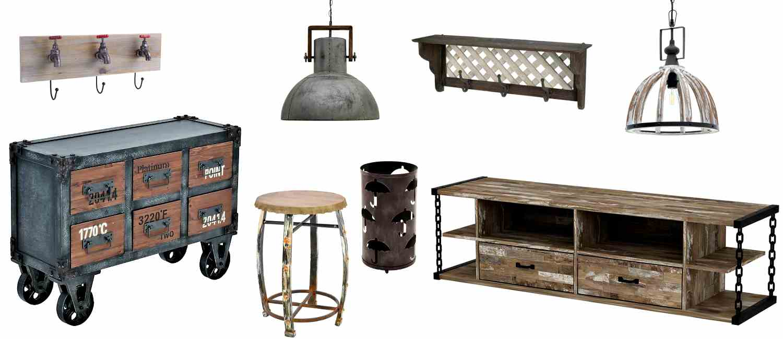 Индустриални мебели за дома и градината