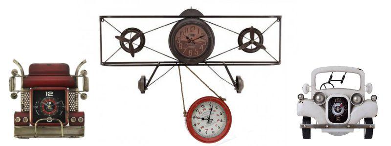 Часовници за стена с различна големина